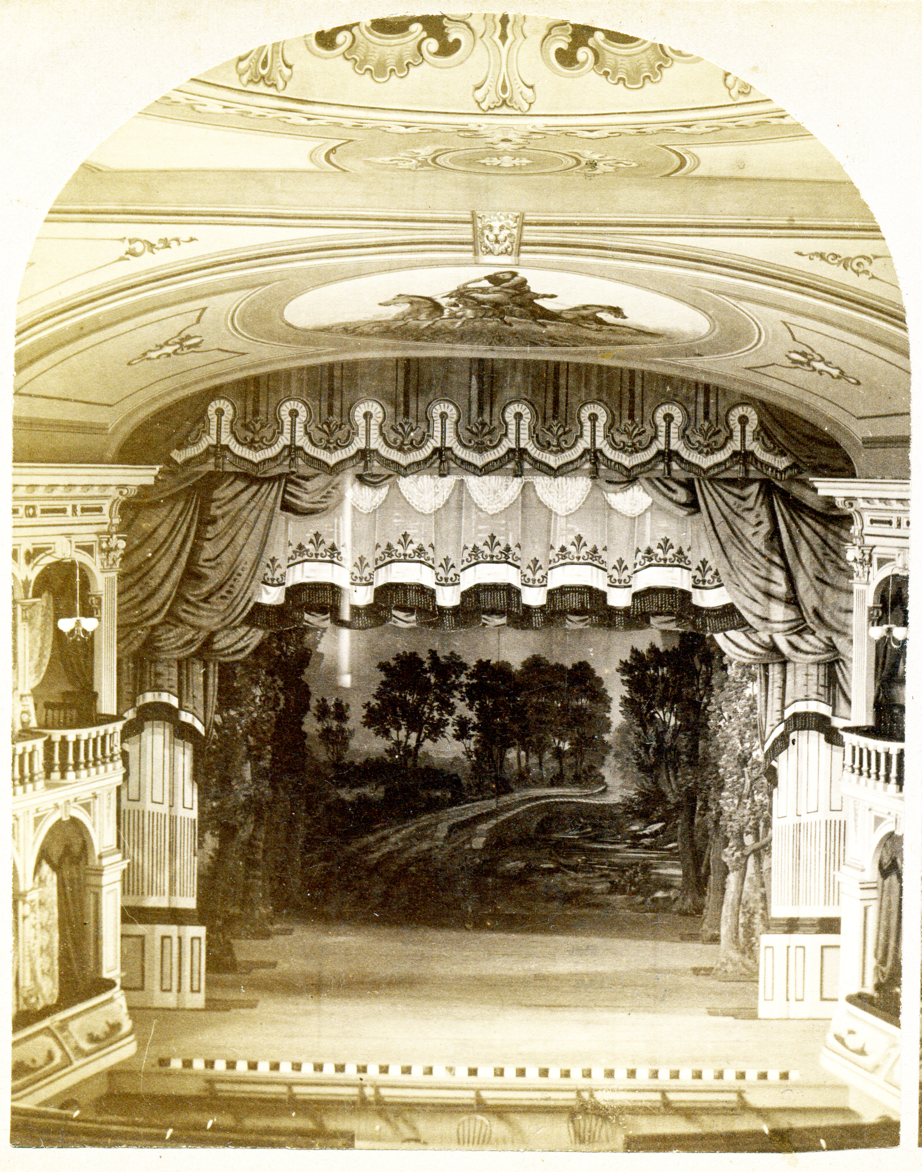 Griffin Opera House Interior