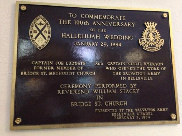 Hallelujah Wedding plaque