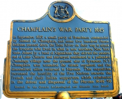 CHAMPLAIN'S WAR PARTY 1615