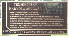 MINERS OF MARMORA AND LAKE
