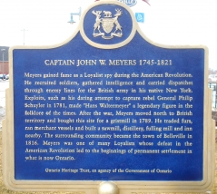 CAPTAIN JOHN W. MEYERS 1745-1821
