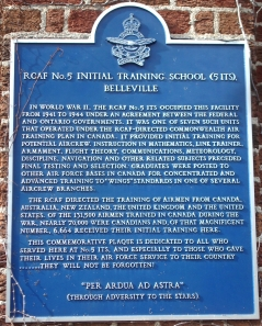 RCAF No. 5 INITIAL TRAINING SCHOOL (ITS) BELL
