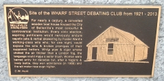 WHARF STREET DEBATING CLUB