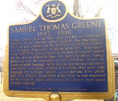 SAMUEL THOMAS GREENE
