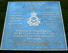 BRITISH COMMONWEALTH AIR TRAINING PLAN (DESERONTO)